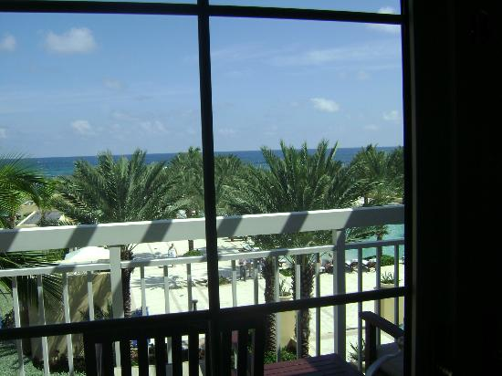The Westin Dawn Beach Resort & Spa, St. Maarten : view from our room