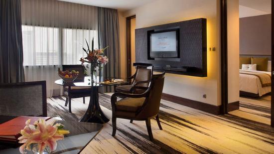 Normal BGran Melia Jakarta Deluxe Suite Room