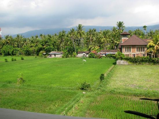 Bali Paradise Hotel Boutique Resort: Vue balcon