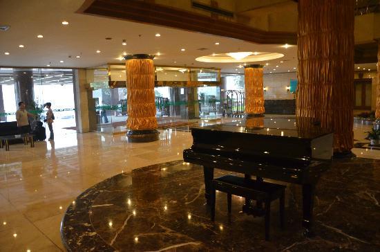Jing'an Peony Plaza: lobby