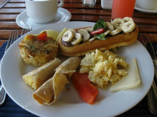 Hyatt Ziva Puerto Vallarta: breakfast at World Cafe