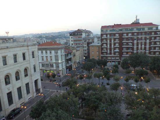 Best Western Hotel Plaza : Вид из окна