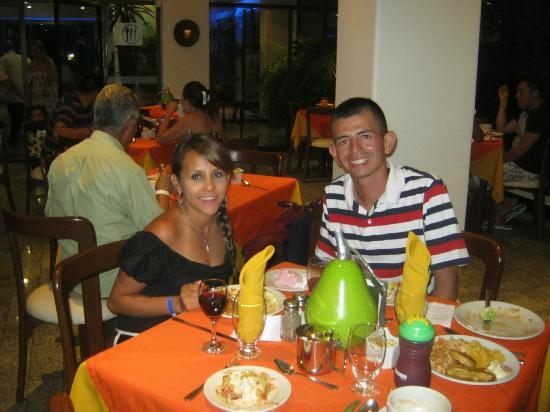 Hotel Arena Blanca: comedor hotel
