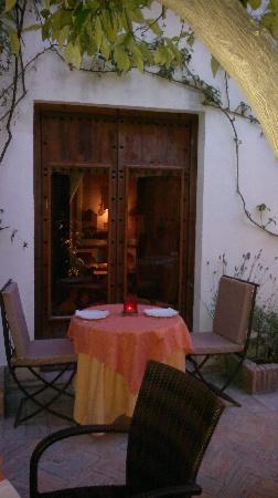 Palacio de los Granados: Restaurante