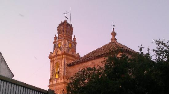 Palacio de los Granados: Torre de San Juan desde el hotel los granados