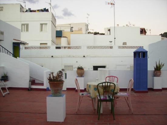 Pension La Herradura: Rooftop Terrace
