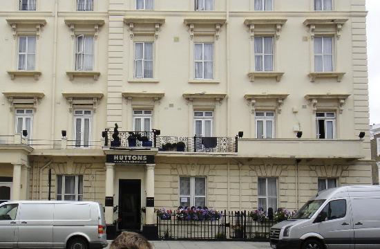 Huttons Hotel: Entrata dell'Hotel