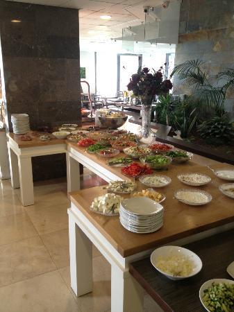 Emily's Hotel: Sala colazione buffet