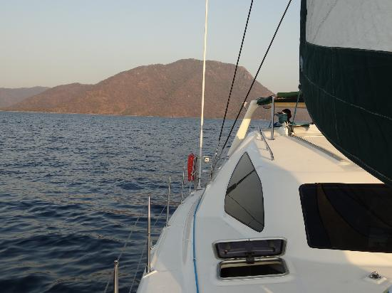 "Danforth Yachting: sunset cruise with ""Mufasa"""