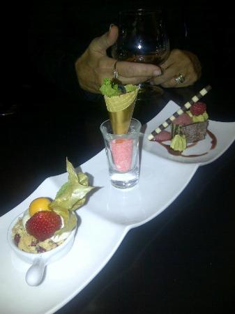 Rosewater's Trio Dessert
