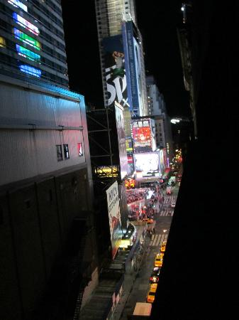 Night Times Square: View from room
