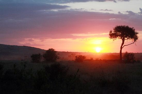Nairobi, Kenya: 日落