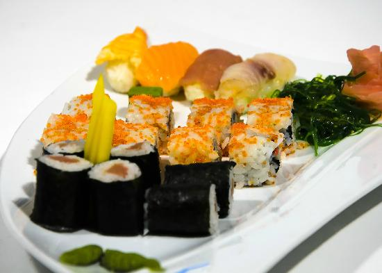Sushi picture of mediterranean fish and sushi restaurant for Where to buy fish for sushi