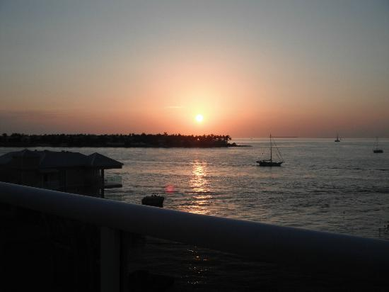 Pier House Resort & Spa: Sunset