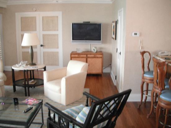 Pier House Resort & Spa: Living area