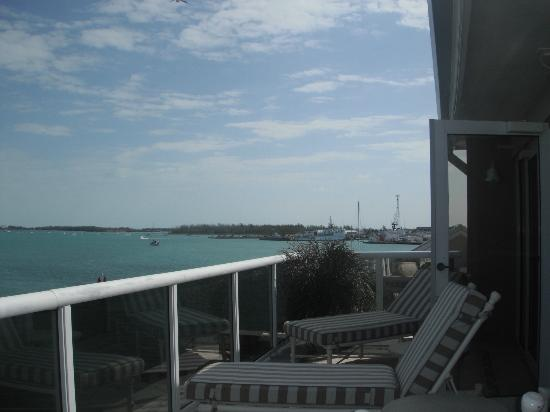 Pier House Resort & Spa: Deck view