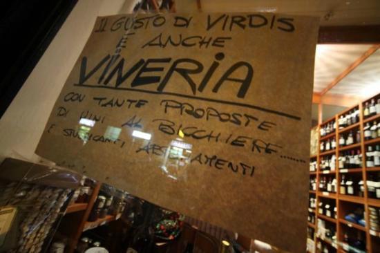 Il Gusto di Virdis: La vetrina