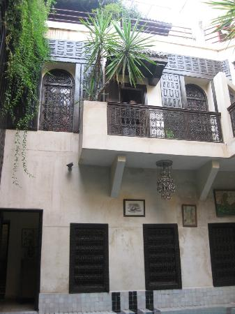 Riad Malika : View from inside the riad