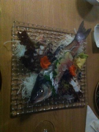 Raw sushi by Sodexo: sea bass