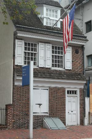 Betsy Ross' Upholstery Shop - Picture of Betsy Ross House ...