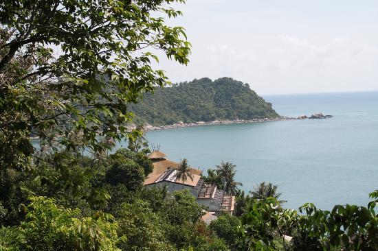 Panviman Resort - Koh Pha Ngan: Вид с обзорной площадки
