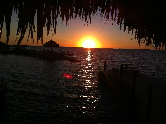 Rock Reef Resort: Gorgeous sunsets