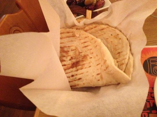 Eclipse Grill Bar: Lafa - thin, herbed flatbread. Delicious.
