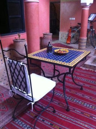 Riad Losra: внутренний дворик