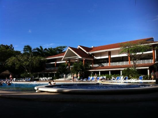 Occidental Tamarindo: lobby y restaurante