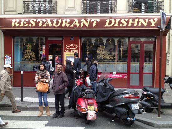 Le Dishny: restaurant dishny 10/11/2012 bonne adresse resto indien sur Paris
