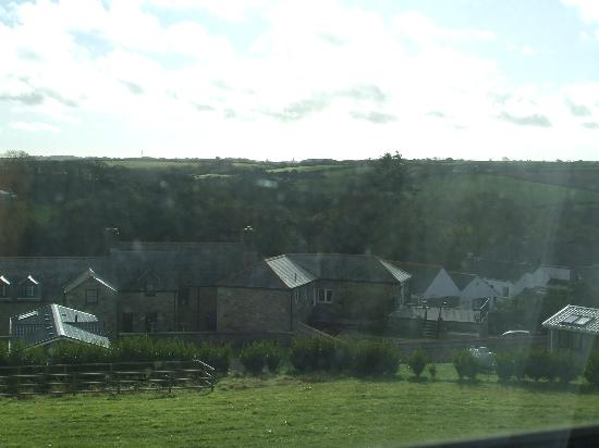 Premier Inn Helston Hotel: View of the Farm from our room.