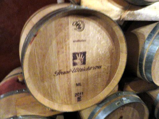 Fraai Uitzicht 1798: in de wijnkelder van onze gastheer