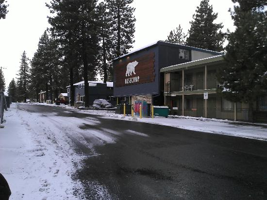 Basecamp South Lake Tahoe: View from street.