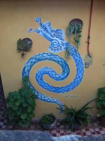 Hostel Qhia : pintura