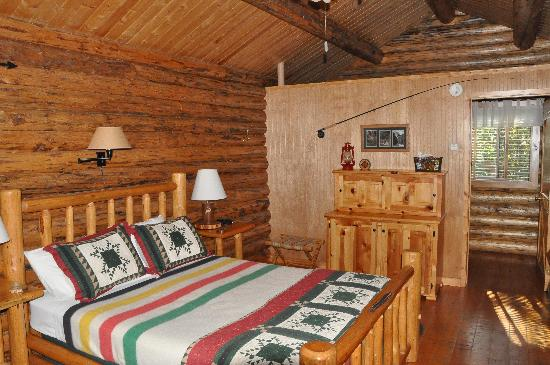 Silverwolf Log Chalet Resort: La camera