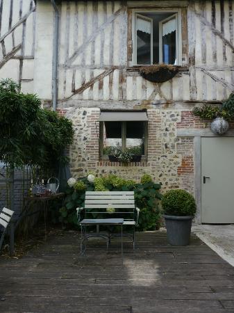 La Cour Sainte-Catherine: Courtyard