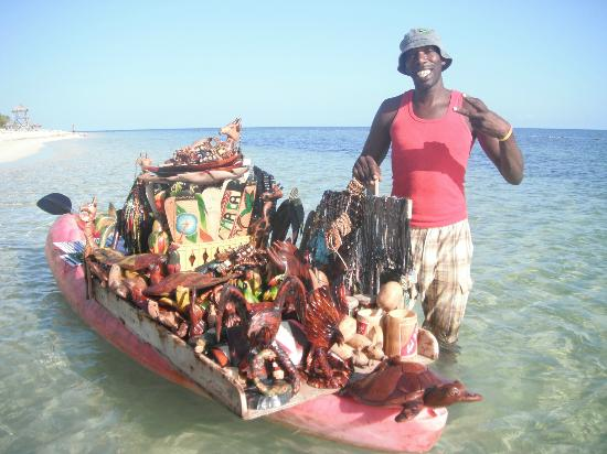 Iberostar Rose Hall Beach Hotel: Michael the boat vendor...great guy!