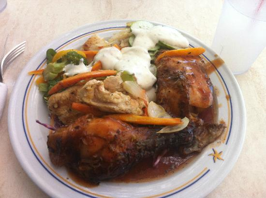 Iberostar Rose Hall Beach Hotel: Buffet meal...yum!
