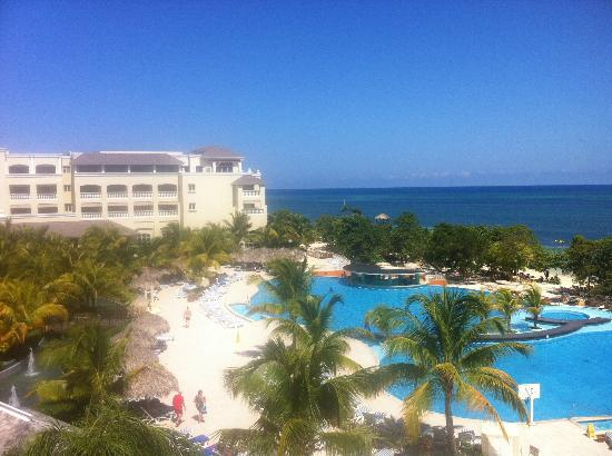 Iberostar Rose Hall Beach Hotel: Another shot of pool from room