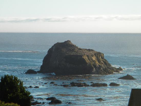 Glendeven Inn Mendocino: View from Garret