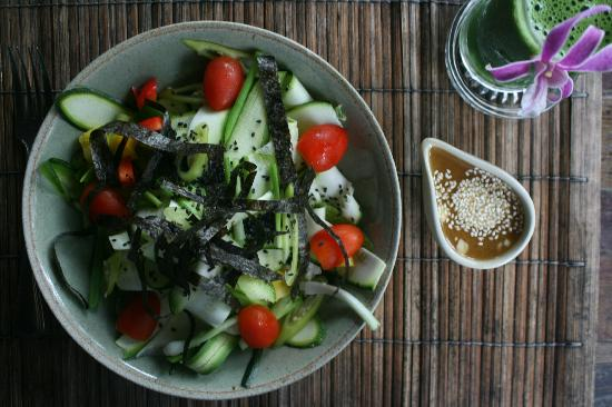 THE SPA KOHCHANG RADIANCE RESTAURANT: raw food