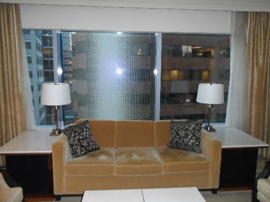 Hyatt At Olive 8: Luxury King Suite - Parlor View