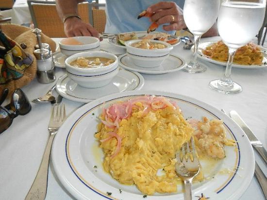 Iberostar Grand Hotel Bavaro: local food