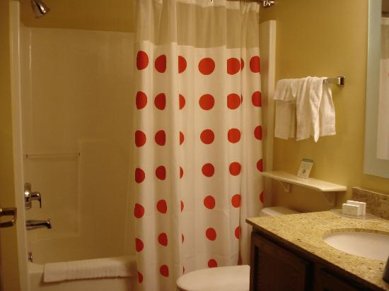 TownePlace Suites Chantilly Dulles South: Cute shower curtain!