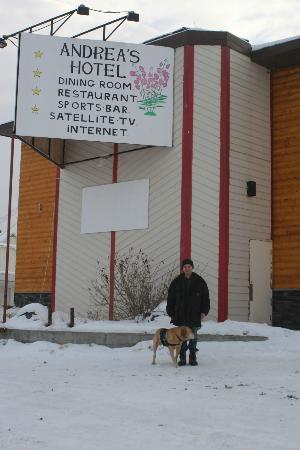 Andrea S Hotel Street View Watson Lake Yukon Canada