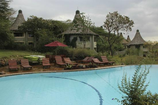 Lake Manyara Serena Lodge: pool and grounds