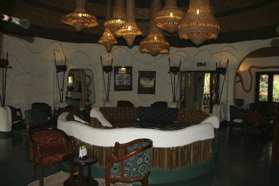 Lake Manyara Serena Lodge: lounge room