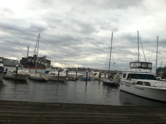 Inn at Henderson's Wharf: harbor view