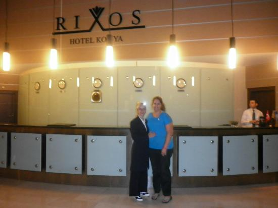 Rixos Konya: OTEL GİRİŞ