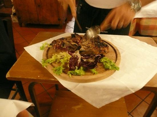 I Toscano : Best steak ever!